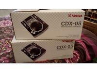 Vestax cdx 05 proffesional cdjs