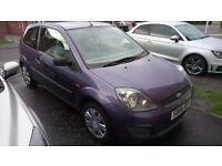 Ford Fiesta Style 1.25 3dr, Only 47000 miles! Long MOT