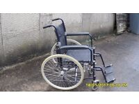 WHEELCHAIR COMPLETE DARK METTALIC BLUE