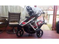 Phil & teds Vibe V2 Double pram buggy stroller system