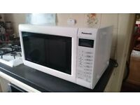 Panasonic NN-CT555W 1000W Combination Touch Microwave (Spares or Repair)