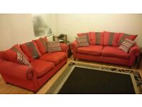 2 Seater Double Sofabed + 3 Seater Sofa