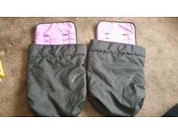 Pink & Black Mothercare Cosy Toes