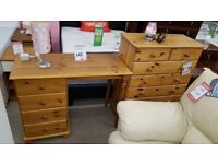 Lovely pine dressing table