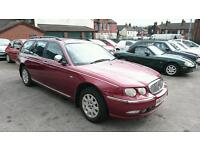 2003 rover 75 connoisseur estate long test full loaded on lpg/gas/dual fuel brc kit