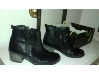 Ladies Ankle Boots - Size 5.5/ Calf boots - Clarke's 5.5 / Knee high boots 5.5 all Black -