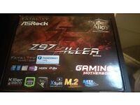 ASRock Fatality Z97 Killer Motherboard (New)