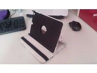 Monochrome floral iPad mini case