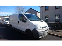 Vauxhall vivaro MOT end July ply lined and racked