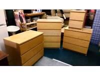 Ikea bedroom furniture 4 chests
