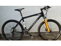 Isaac Impact Carbon mountain bike - almost £4k new