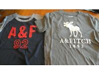Abercrombie Kids 2 t-shirts size 7/8 years