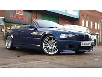 BMW M3 3.2 Sequential 2dr PERFECT EXAMPLE FREE WARRENTY 06 reg Convertible