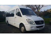 Mercedes Sprinter 311 CDI 2007 minibus 16 seats (including driver)