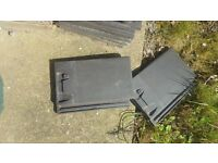 Roof Tiles Charcoal - 20-20 - Excellent condition and un-used