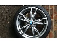 BMW Alloy Wheels and Tyres for sale: Type 436 double spoke 18 inch.