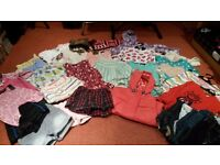 Large lovely bundle girls clothes age 4-5 good used condition, Boden, Indigo M&S, Next etc.