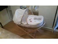 Moses Basket for Sale - Superb Condition - Price £15
