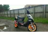 Tgb 125 4 stroke scooter moped woth mot and logbook drive away like piaggio aprilia