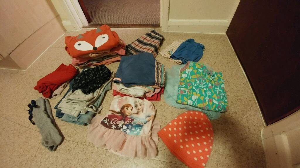 Girls bundle ages 2-3 years