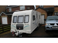 Bailey 624 Olympus twin axle Caravan