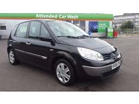 RENAULT SCENIC 1.6 IN EXCELLENT CONDITION. LONG MOT &TAX. CAMBELT REPLACED. FULL SERVICE HISTORY