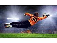 Join 11 aside South London Football Team, play as a goalkeeper for free, find soccer in London 8CW