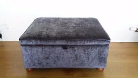 Bed in a box / guest bed / folding fold out bed / stool / single size