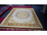 """Large Indian type carpet 8' 9"""" x 11' 10"""" approx. In as new condition, hardly walked on no marks."""