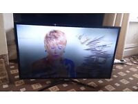 """SAMSUNG 40"""" LED TV SMART/WIFI/DUAL CORE/100HZ/MEDIA PLAYER/ EXCELLENT CONDITION NO OFFERS"""