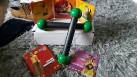 Zumba fitness/dance dvds