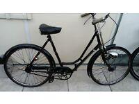 Vintage BSA ladies bicycle