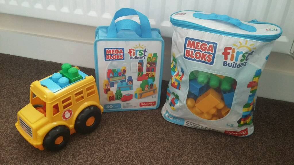 Bundle of Mega Bloks toys