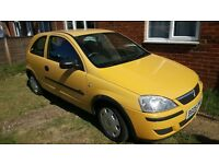 Vauxhall Corsa 1.0 cc 2005