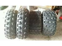 Quad Tyres 4 off