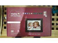 Brand new nixplay wifi cloud frame 8 inch