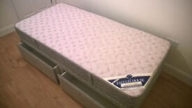 """High quality single divan bed """"Slumberland - Falcon House"""" for sale in great conditions."""
