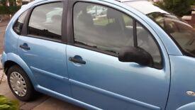 Blue Citroen C3 for sale