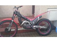 BETA EVO 290 2T 2010 TRIAL MOTORBIKE