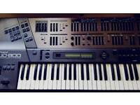 Roland JD800 Programmable synthesizer