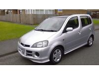 52. REG TOP SPEC DAIHATSU YRV 1.3 low miles may mot must see. Drives great