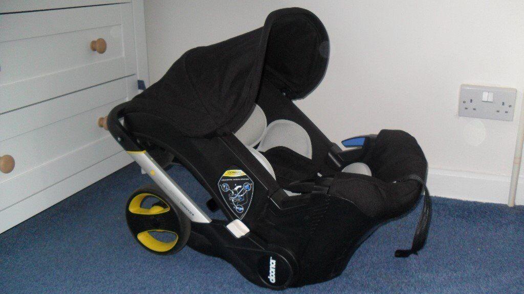 Doona Car Seat Stroller Isofix Base Snap On Bag
