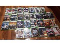 Bundle of X-box 360 games