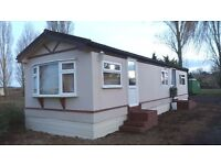 Park Home 40 X 12ft Omar Refurbished throughout to high modern standard