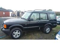 Land Rover Discovery 4.0 V8.. (LPG) Auto.. 02 Plate..