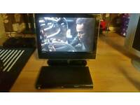 19 inch lcd tv with dad player and freeview