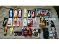 Huge bath and body/make-up job lot