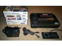 Sega Master System with 6 games (