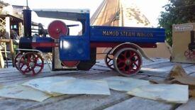 Mamod steam lorry working steam model
