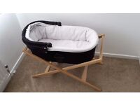 Mamas & Papas Black Carrycot to fit Sola, Zoom, Urbo & Glide and Deluxe Stand
